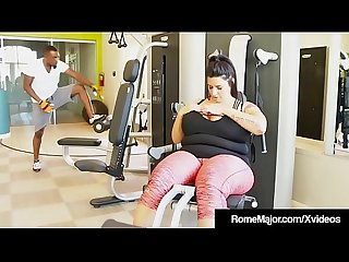 Phat Ass BBW Sofia Rose Is Wrecked By Black Cock Rome Major!