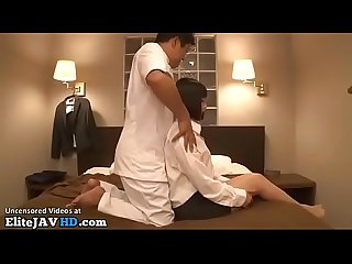 Japanese office lady sex massage more at elitejavhd com
