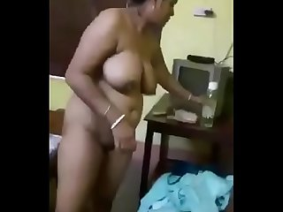 Cheating Big Tits Indian Wife