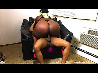 Ebony Big Booty Stripper Came Over For A Fucking