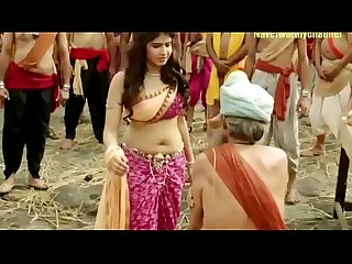 Bubbly chubby deep navel of star plus beauty