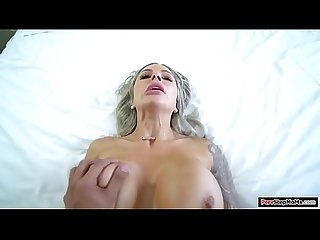 Busty european milf titfucks her stepson