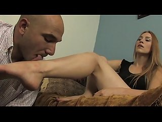 Foot slapping and foot worship