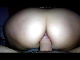 Amateur anal ride