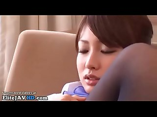 Japanese hostess foot fucked in hotel more at elitejavhd com