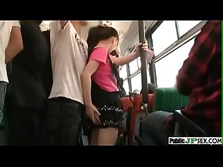 Japanese groped in bus