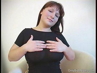 Joanna big tits dildo fun