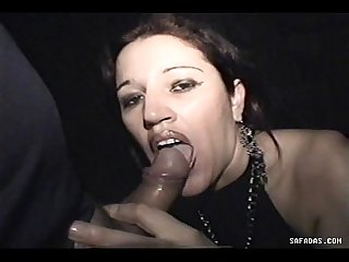 Nasty Brazilian Girl Gets Facial Pee After Gives ThroatJob