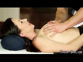 Milf railed by masseur