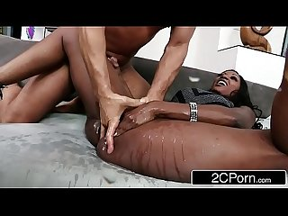 Horny millionaire diamond jackson Squirting on A male Escort S Cock