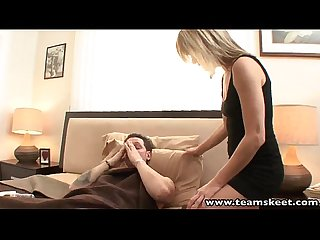 Teamskeet blonde milf Jessie fontana hardcore sex facial cumshot