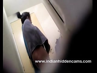 Hot indian girl in bathroom taking shower naked mms