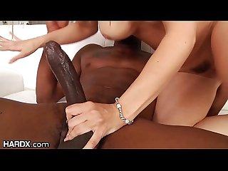 MILF Sarah Vandella Ass Fucked HARDCORE & Cumshot By BBC