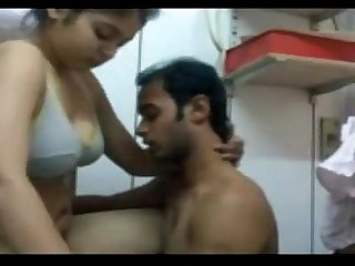 Indian chick fucked hard by bf