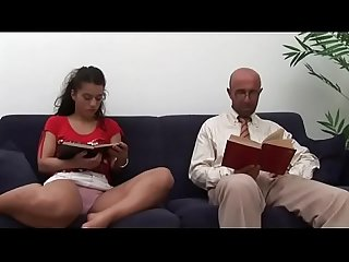 Why studying if you have daddy s cock all to yourself