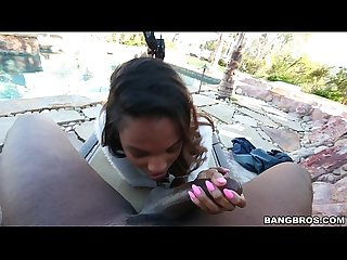 Sexy Amateur Black Girl Gets Big Thick Cock