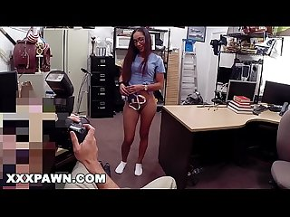 XXXPAWN - Desperate Latin Nurse Visits Pawn Shop For Fast Cash