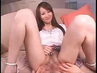 Lovely asian pussy gape