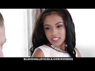 Blackvalleygirls hot sexy ebony fucks white jock