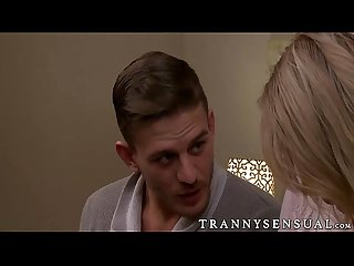 Gustavo alexander seduces and fucks hot tranny aspen brooks