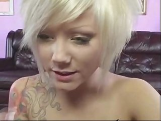 blonde emo teen blowjob