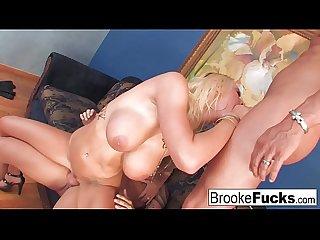 Watch 2 guys violate brooke