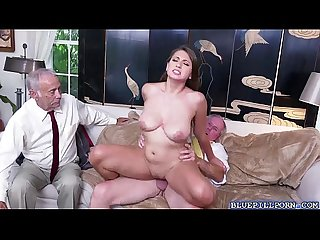 Ivy rose shows off her body to old neighbors
