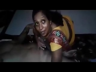 South indian village Aunty fucking cum on her tits