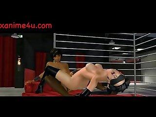 Animated lesbians enjoy strapon xanime4u com