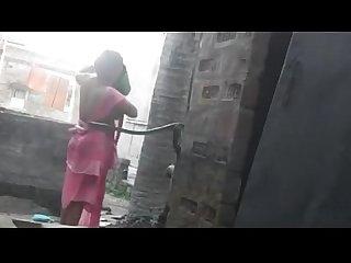 Desi kolkata Boudi Bhabi hidden bath scene