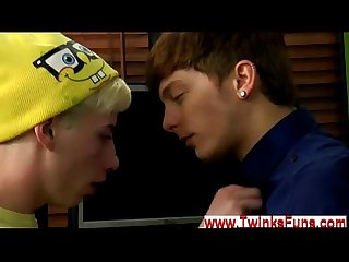 Emo gay kiss video 3gp download cute youthfull Twink jax is Bored out
