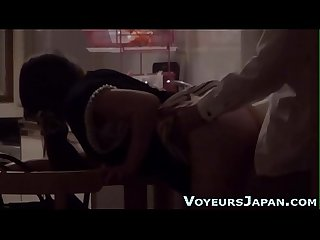 Fingered japanese babe