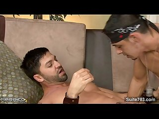 Hefty married guy gets fucked by a gay
