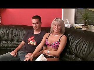 Mom shows virgin son how to have sex