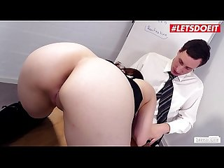 LETSDOEIT - Hot Secretary Vanda Angel Fuck Fest With The Intern
