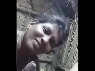 Tamil Village Aunty sucking cock