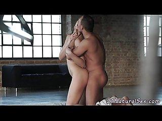 Beautiful girlfriend fucked hard by bf