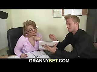 Office woman loves riding his big meat