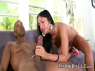 Mandingo Sized Cock Fucking Lovely Bitch