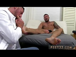 Gay Twinks foot fetish and men fucking foot pissing gay first time