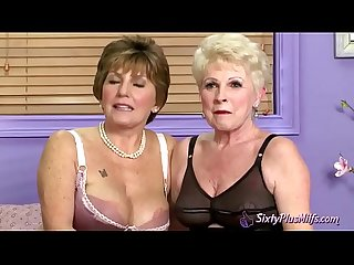 Interview with Two Grannys in Lingerie