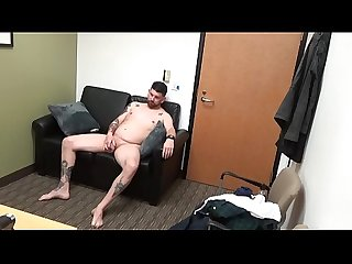 Jack shows off his Piercing at casting couch