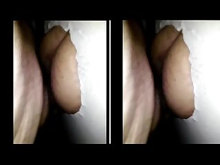 Fucking raw through a glory hole