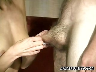 Amateur anal group sex with facial shots