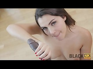 Black4k period big cock can save valentine from boredom and loneliness
