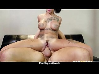 Big titted office milf fucks at work 19