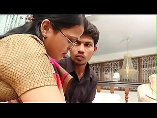 Boy eagerly waiting to touch aunty boobs full movie..