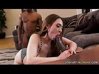Horny Quinn Wilde Wild Craves Her Boyfriend's Black Friends