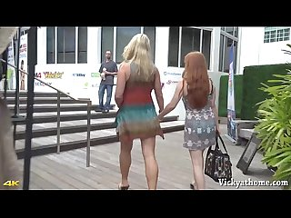 Hall of Fame MILF Vicky Vette Plays With Redhead Penny Pax in Miami!
