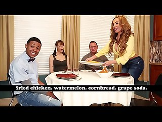 Bangbros Milf richelle ryan adopts lil d S Big Black Cock invites him over for dinner